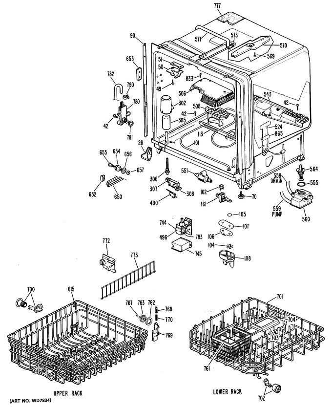 Diagram for GSD2800L04