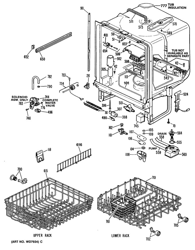 Diagram for GSD2800S40