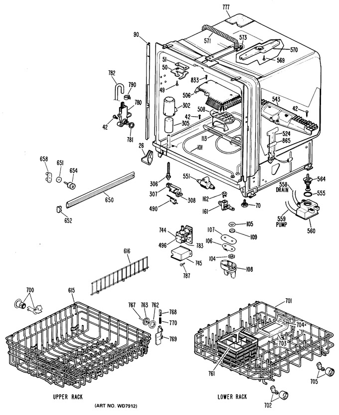 Diagram for GSD2800L20