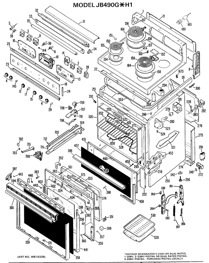 Diagram for JB490G*H1