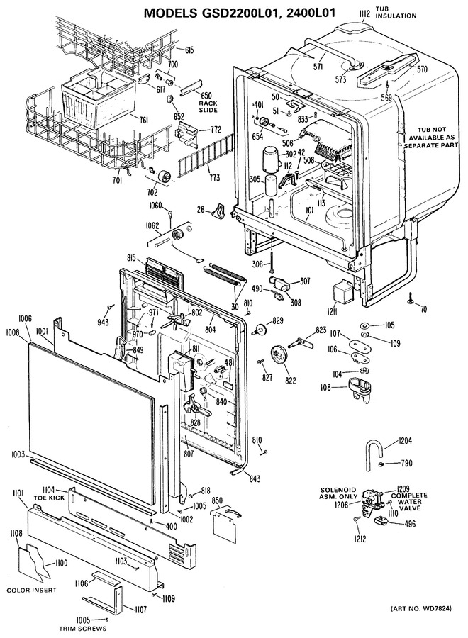 Diagram for GSD2200L01
