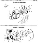 Diagram for 3 - Drum & Heater Assembly