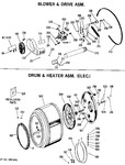 Diagram for 2 - Blower & Drive Asm.