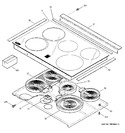 Diagram for 2 - Cooktop