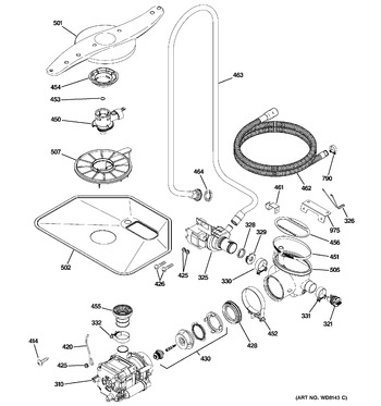 Diagram for PDW8680J00SS