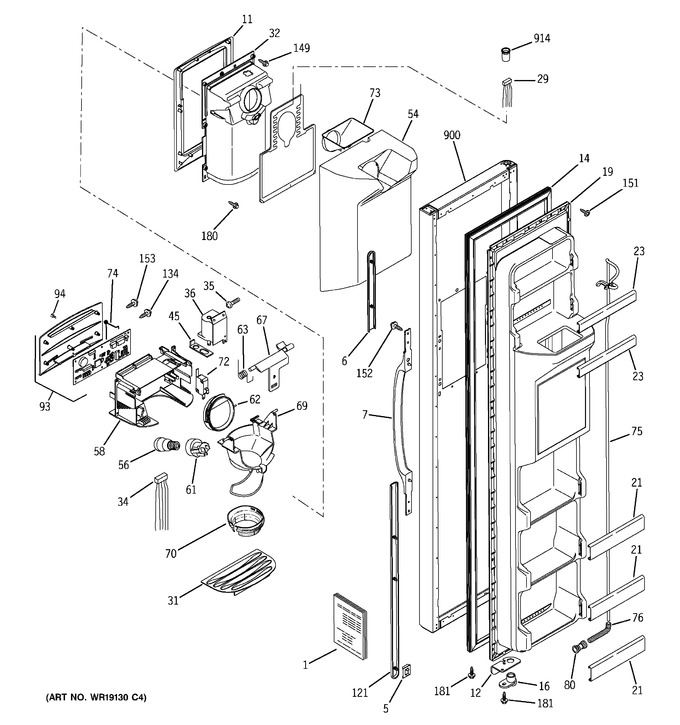 Diagram for GSS25UFMDCC