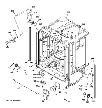 Diagram for PDW9700L00II