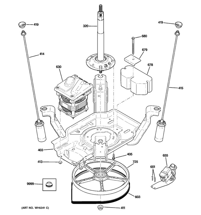 Diagram for VWSR4150DCWW