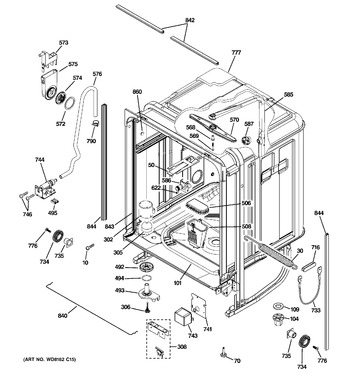 Diagram for PDW8280J01SS