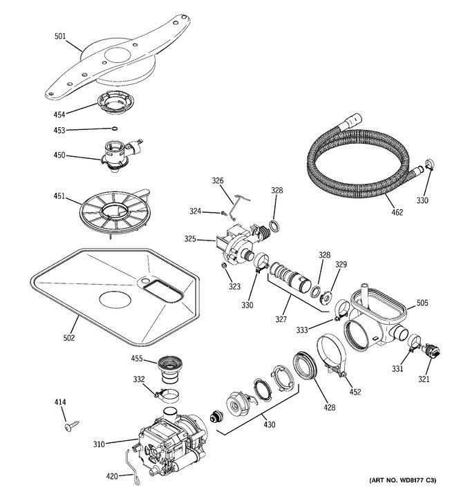 Diagram for GLD6260L15SS