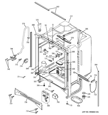 Diagram for PDW7300N00BB