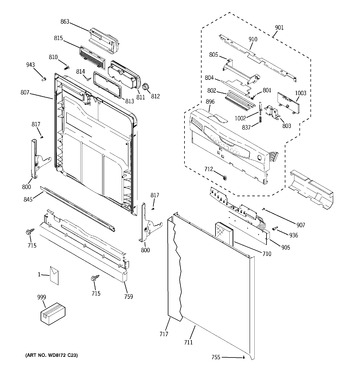Diagram for GHD4309L15BB
