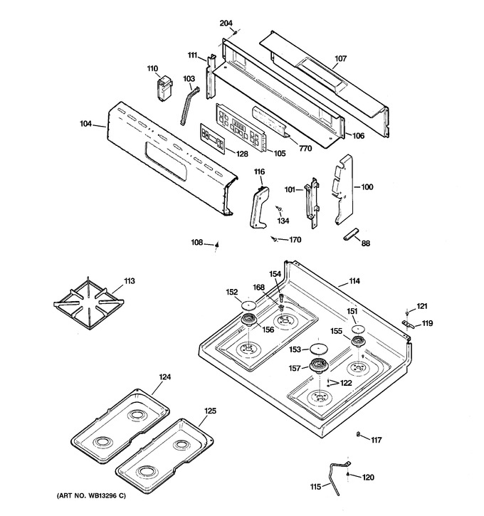 Diagram for RGB790BEK2BB