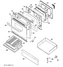 Diagram for 4 - Door & Drawer Parts