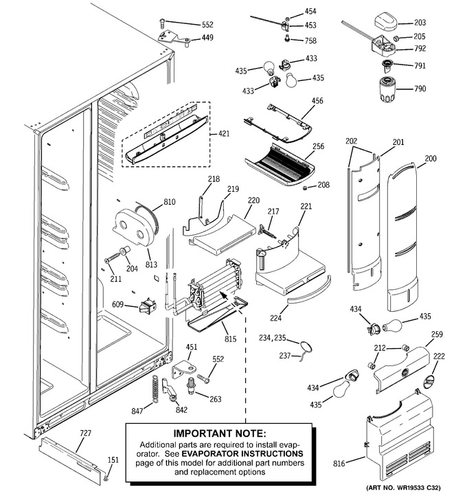 Diagram for PSH23PSTBSV