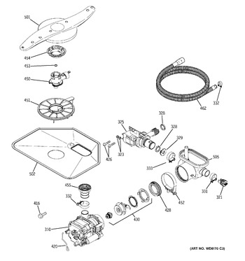 Diagram for PDW7912N10SS