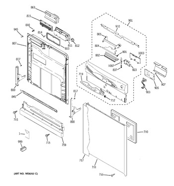 Diagram for GHD6310L18SS