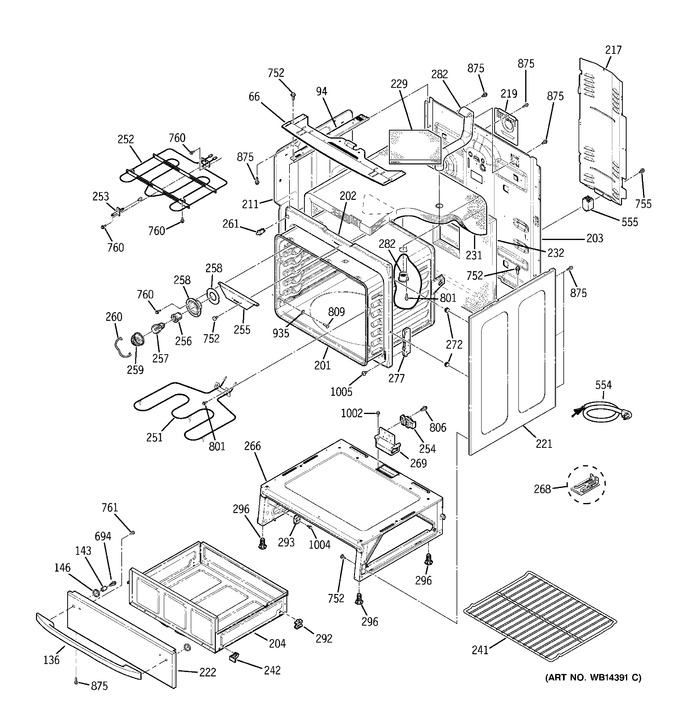 Diagram for JCB800BK4BB