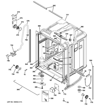 Diagram for PDW8612N00SS