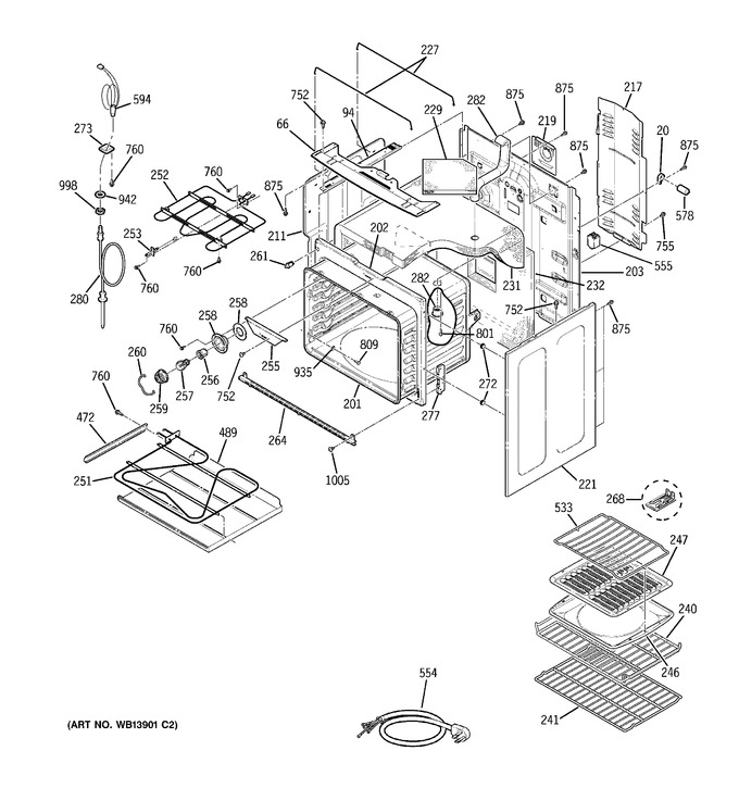 Diagram for JCB968BK3BB