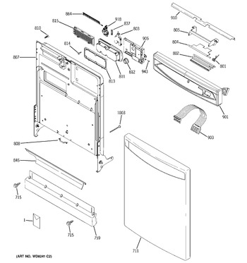 Diagram for PDW7712N20BB