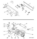 Diagram for 1 - Backsplash, Blower & Motor Assembly