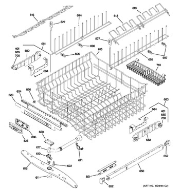 Diagram for PDW9900N00BB