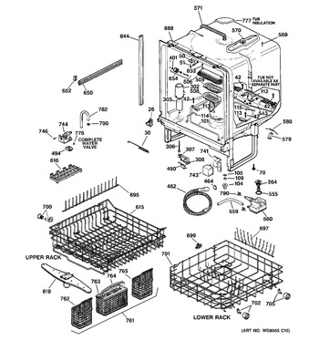 Diagram for GSD5610D02AA