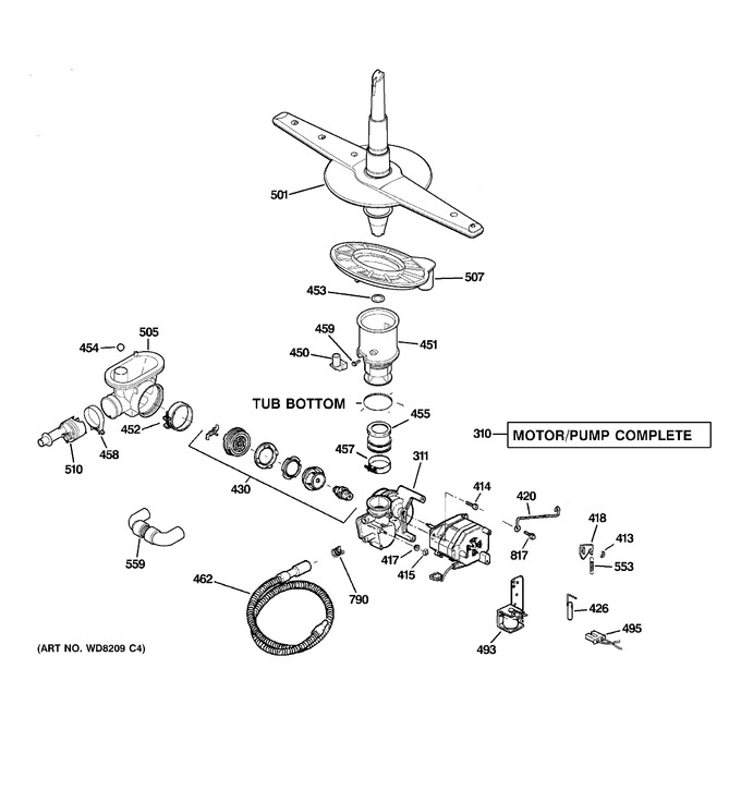 Diagram for ADW1100N15WW