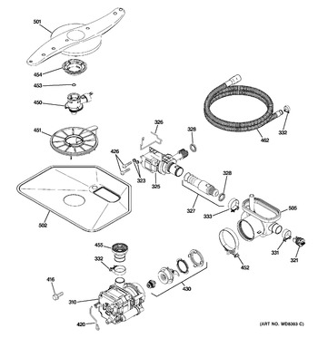 Diagram for PDW7800R30BB