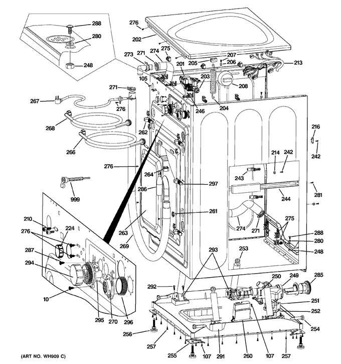 Diagram for WPDH8800J1MV