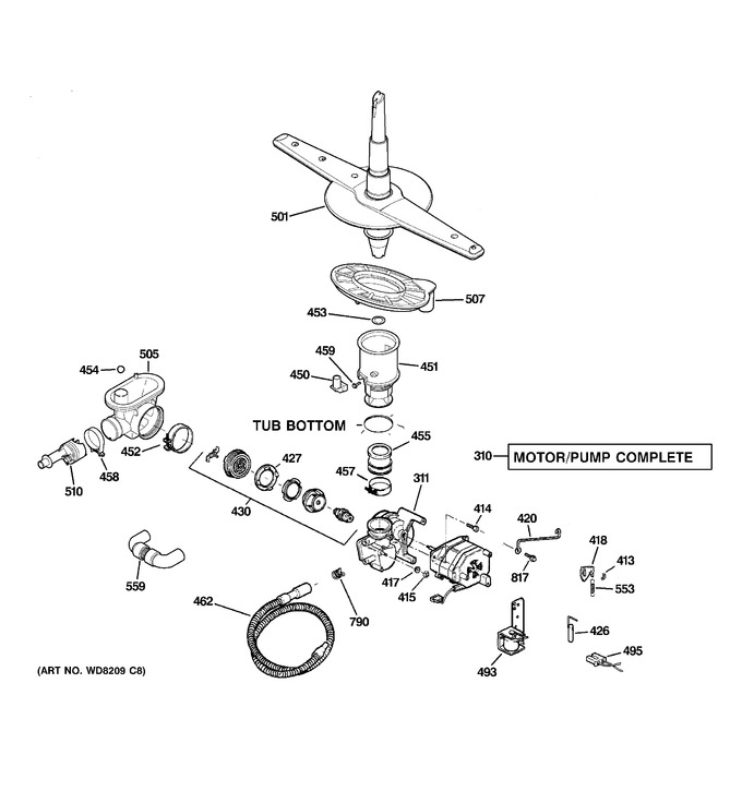 Diagram for ADW1100N35WW