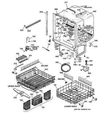 Diagram for GSD5920F00BB