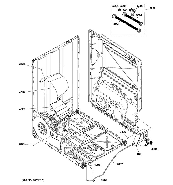 Diagram for GTDS580ED0WW