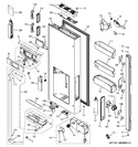 Diagram for 1 - Dispenser Door