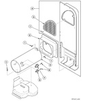 Diagram for Heater Duct Assembly