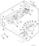 Diagram for Dryer Motor, Exhaust Fan And Belt