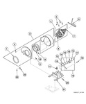 Diagram for Motor, Exhaust Fan And Belt