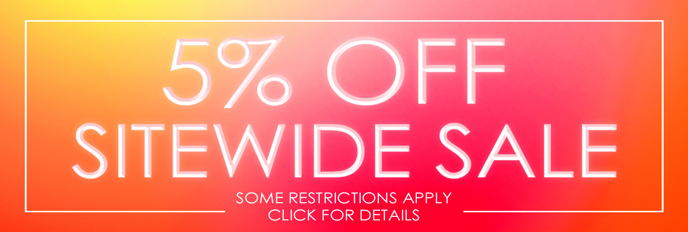 5% Off Sitewide Sale