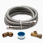 6' Stainless Steel Braided Dishwasher Waterline Installation Kit by Electrolux Frigidaire