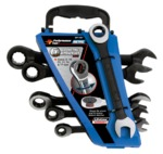 Performance Tools 6 PIECE METRIC RATCHET WRENCH SET