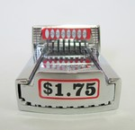 Greenwald Industries V-8 COIN SLIDE CHUTE with $1.75 DECAL