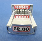 Greenwald Industries V-8 COIN SLIDE CHUTE with $2.00 SLIDE DECAL