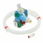 Whirlpool Jenn-Air KitchenAid Maytag Roper Admiral Sears Kenmore Norge Magic Chef Amana Refrigerator Dual Ice Maker Water Inlet Fill Valve Kit