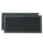 Whirlpool Maytag Amana Sears Kenmore Microwave Oven Range Vent Hood Charcoal Filter Kit 2 Pack