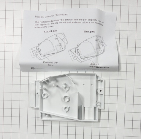 WR17X12734 GE Ice Maker Auger Motor Cover | Reliable Parts