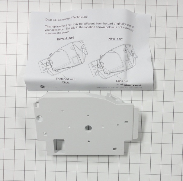WR17X12734 GE Ice Maker Auger Motor Cover   Reliable Parts