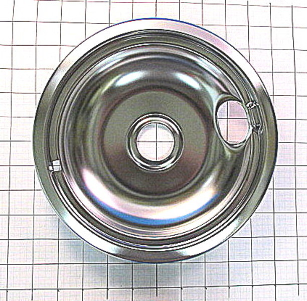 Wpw10196405 Whirlpool 8 Quot Drip Bowl Chrome Reliable Parts