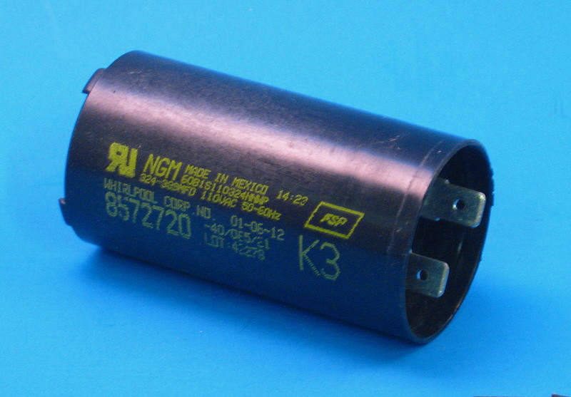 Whirlpool Wp8572720 Capacitor Reliable Parts