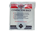 "Whirlpool /KitchenAid / Maytag / Sears Kenmore 18"" Trash Compactor Bags 15 Pack"